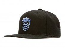 STUSSY-Stock Lock SU18 Cap - Black