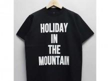 MOUNTAIN RESEARCH-H.I.T.M. - ビッグTEE - Black