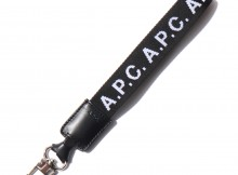 A.P.C.-Logo キーリング - Black