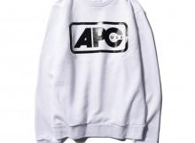 A.P.C.-Vince スウェットシャツ - White