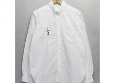 MOUNTAIN RESEARCH-B.D. : OX - 動物刺繍 前開き - White