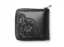 Needles - Carving Sigle Wallet - Black