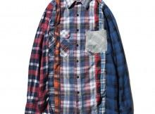 Rebuild by Needles - 7 Cuts Flannel Shirt - Sサイズ