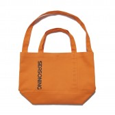 SEASONING-BIG TOTE BAG - Orange