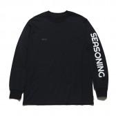 SEASONING-SEASONING L:S TEE - Black