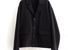 URU-COTTON SHORT JACKET - D.Navy