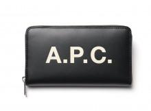 A.P.C.-Portefeuille Morgan 18A - Black