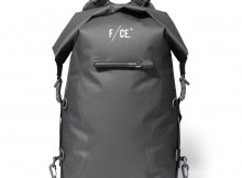 F:CE.-NO SEAM ZIP LOCK BAG - Gray