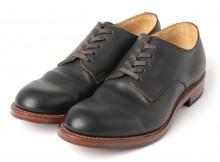 MOTO-Plain Toe Oxford Shoes #2100 - コードバン外羽根 - Black
