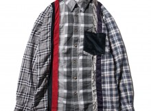 Rebuild by Needles - Inserted 4 Cluths Flannel Shirt - Sサイズ