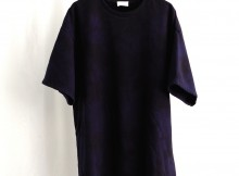 URU-COTTON SEED STITCH S:S TEE - D.Navy