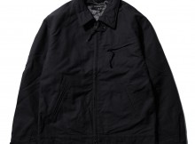 ENGINEERED GARMENTS-Driver Jacket - Cotton Double Cloth - Black