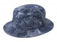NEON SIGN-SPLASH CAMOUFLAGE BUCKET HAT - Slate Green