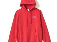 WIND AND SEA-PULLOVER SWEAT H - Red
