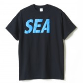 WIND AND SEA-T-SHIRT I - Black