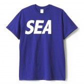 WIND AND SEA-T-SHIRT I - Purple
