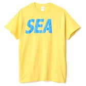 WIND AND SEA-T-SHIRT I - Yellow