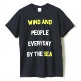 WIND AND SEA-T-SHIRT J - Black