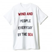 WIND AND SEA-T-SHIRT J - White
