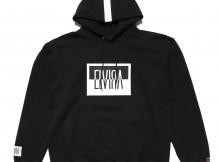ELVIRA-REVERSAL BOX HOODY - Black