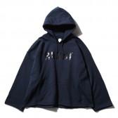 RANDT - Cutaway Hoody - PC Fleece - Navy