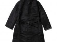 RANDT - Studio Coat - Polyester Faux Suede - Black
