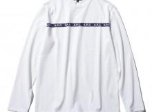 T-SHIRT JESS L:S : COTON FIN DEUX 18H JPS - White