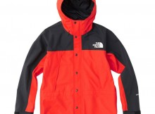 THE NORTH FACE-Mountain Light Jacket - FR ファイアリーレッド