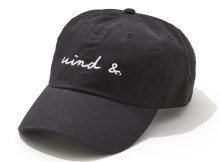WIND AND SEA-CAP E - Black