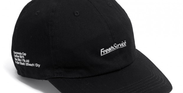 FreshService-Corporate Cap - Black