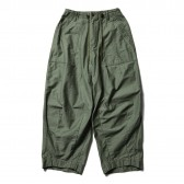 Needles-H.D. Pant - Fatigue - Olive