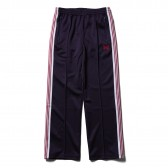 Needles-Track Pant - Poly Smooth - Eggplant