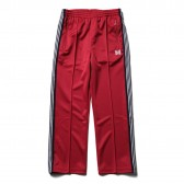 Needles-Track Pant - Poly Smooth - Red