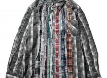 Rebuild by Needles - Flannel Shirt -> Ribbon Shirt - Mサイズ