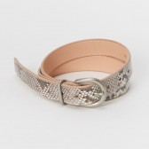 python tanning belt - Natural