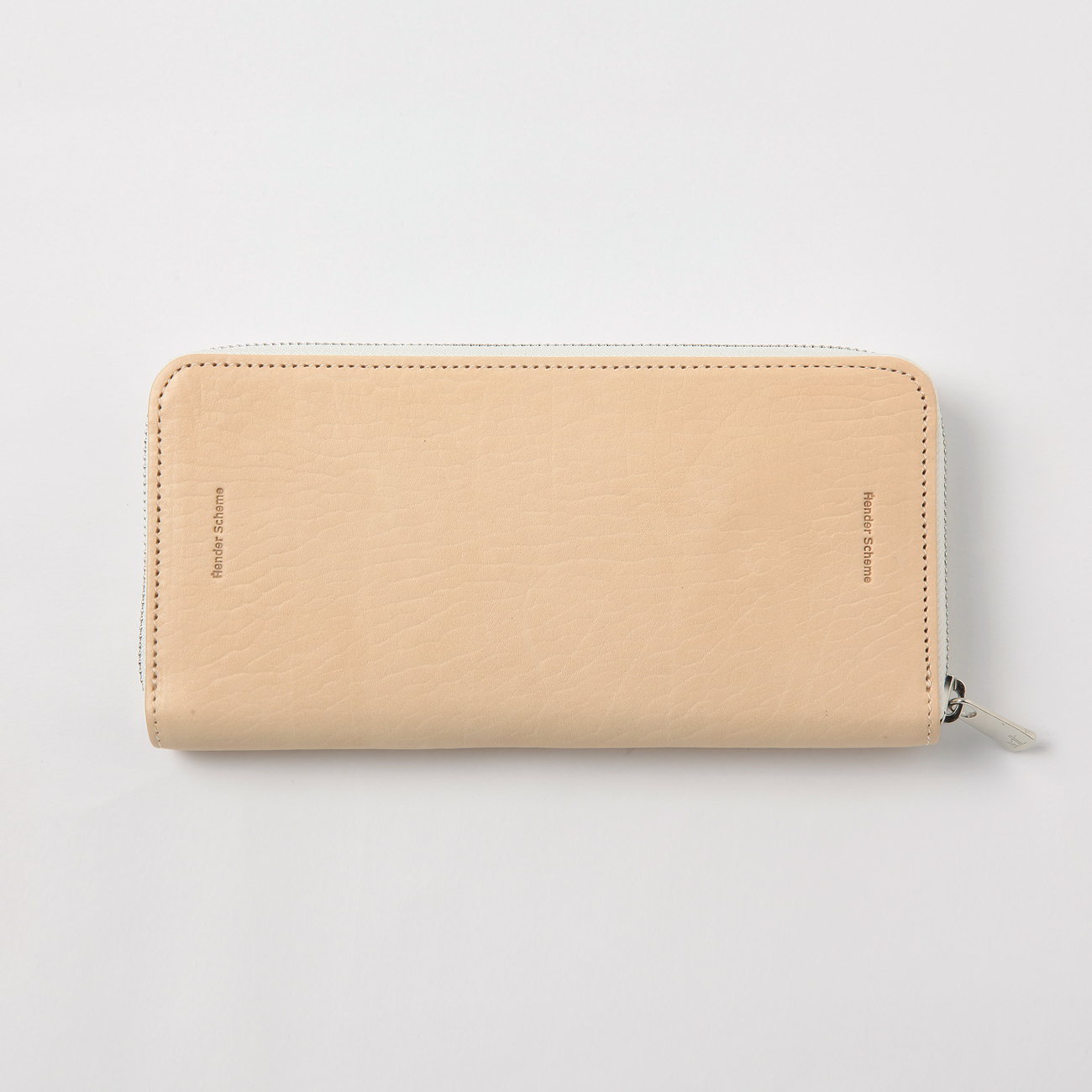 Hender Scheme - long zip purse - Natural