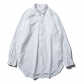 ENGINEERED GARMENTS-19th BD Shirt - 100s Broadcloth - White