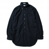 ENGINEERED GARMENTS-19th BD Shirt - Superfine Poplin - Dk.Navy