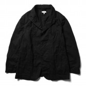 ENGINEERED GARMENTS-Bedford Jacket:Solid - 6.5oz Flat Twill - Black