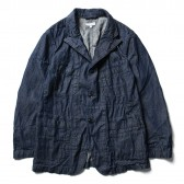 ENGINEERED GARMENTS-Bedford Jacket:Solid - 8oz Denim - Dk.Indigo