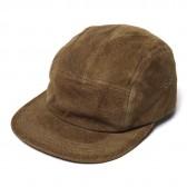 Hender Scheme-water proof pig jet cap - Khaki Brown