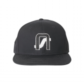 NEON SIGN-COMPANY CAP - Black