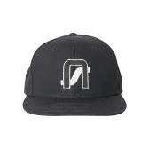 NEON SIGN-COMPANY CAP - Black