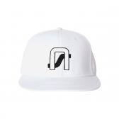 NEON SIGN-COMPANY CAP - Bright White