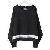 NEON SIGN-NEONSIGN SWEATER - Black