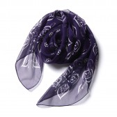 Needles-Scarf - Papillon : Silk Crepe - Purple