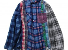 Rebuild by Needles - Flannel Shirt -> 7 Cuts Shirt - Mサイズ