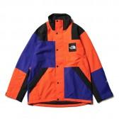 THE NORTH FACE-RAGE GTX Shell Jacket - AP アズテックブルー × ペルシャンオレンジ