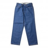 WESTOVERALLS-5 POCKET DENIM TROUSERS 801S - One Wash