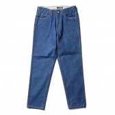 WESTOVERALLS-5 POCKET DENIM TROUSERS 806T - One Wash